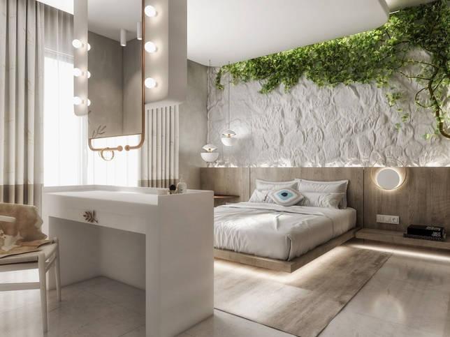 дизайн интерьера спальни фото 57