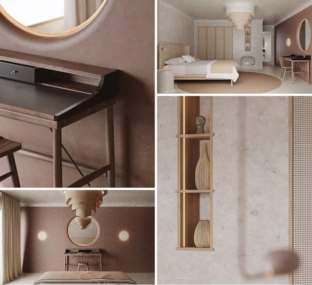 дизайн интерьера спальни фото 58