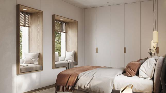 дизайн интерьера спальни фото 59
