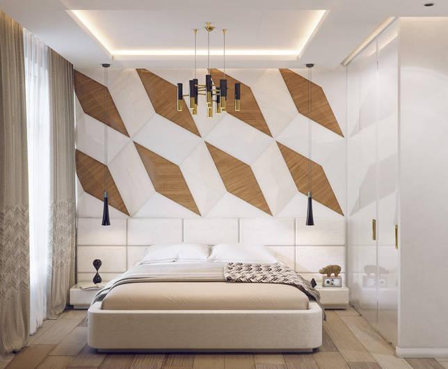 дизайн интерьера спальни фото 60