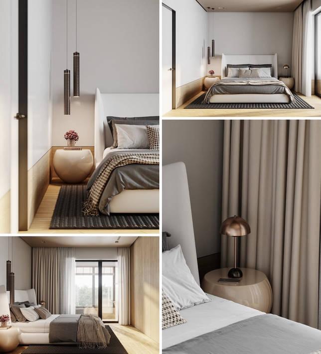 дизайн интерьера спальни фото 16