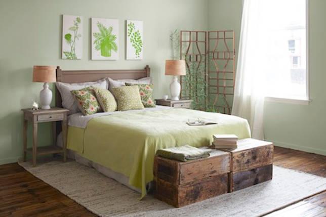 Идеальный цвет для супружеской спальни