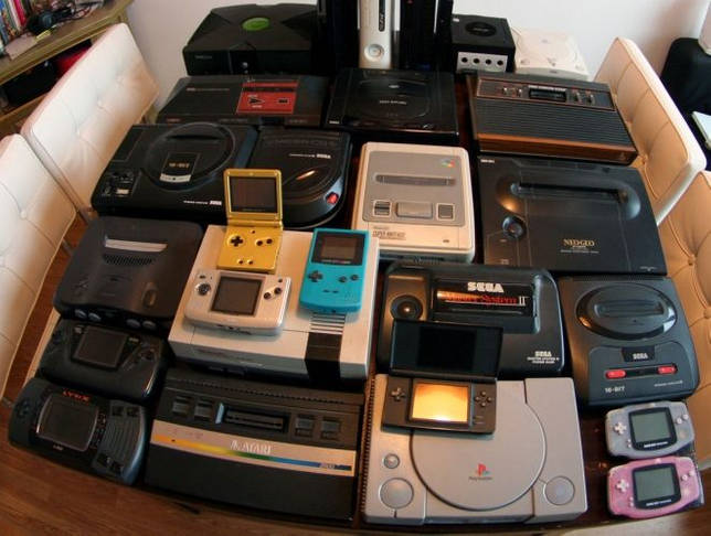 поколения игровых консолей