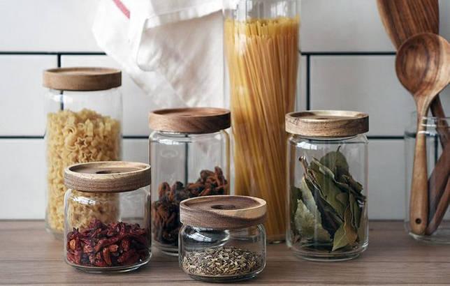 стеклянные контейнеры для сыпучих продуктов
