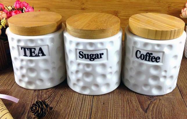 керамические контейнеры для сыпучих продуктов