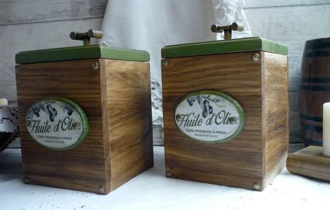 деревянные контейнеры для сыпучих продуктов