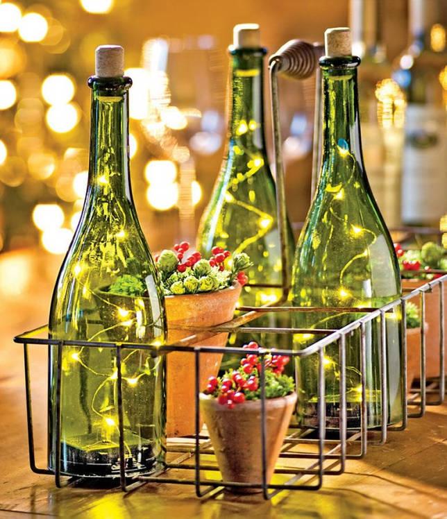 Красивая и необычная подсветка для праздничного стола
