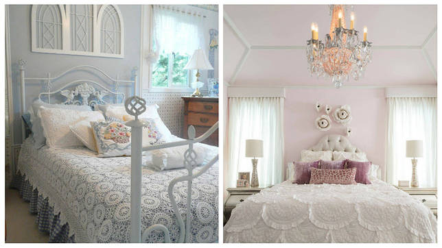 Оборки, воланы и сборки в оформлении кровати