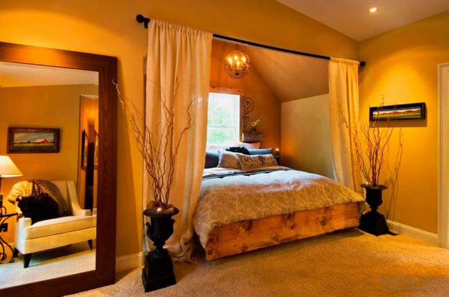 кровать в нише дизайн фото