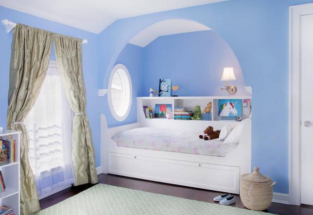 кровать в нише идеи дизайна