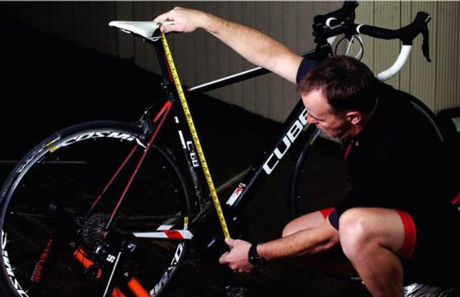 правильная высота седла велосипеда