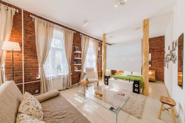 Как отделить кровать в однокомнатной квартире: оригинальные способы