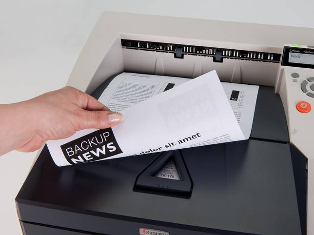 Двусторонняя печать на принтере Kyocera