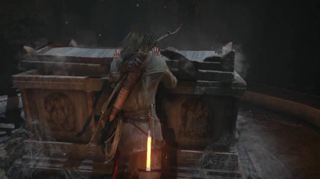 Графика Rise of the Tombrider в разрешении 4K на PS4 Pro