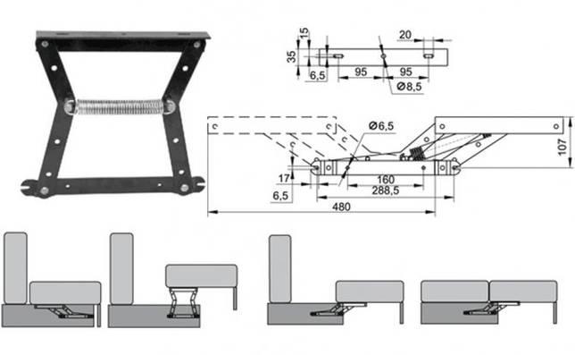 Как разобрать угловой диван: на части для перевозки, правила транспортировки.