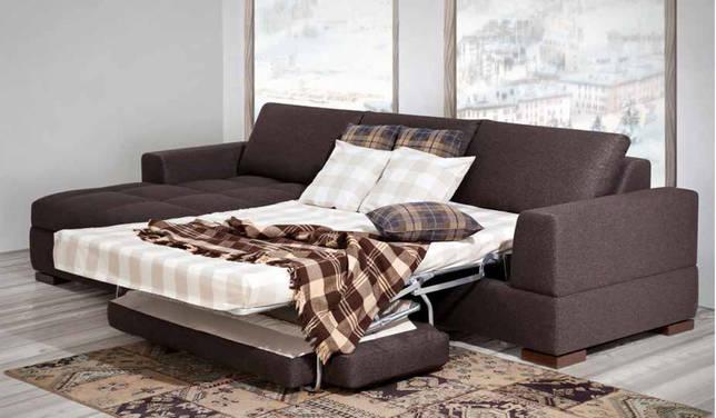 разобрать угловой диван