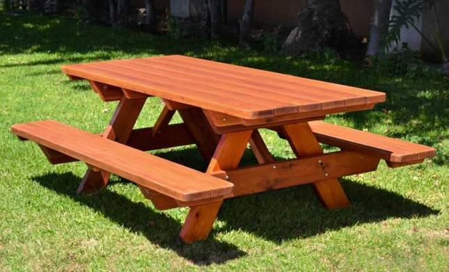 Как сделать столик на дачу самостоятельно: большой и компактный