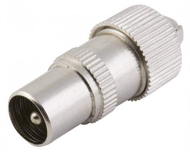 как соединить антенный кабель со штекером