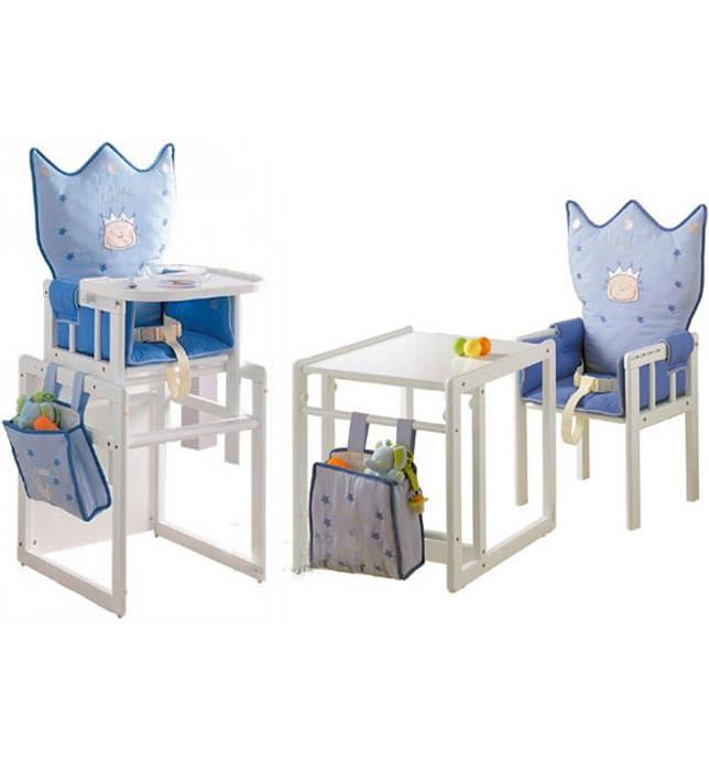 Детские стульчики, напоминающие королевский трон