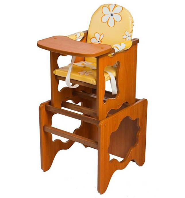 Классический деревянный стульчик-трансформер
