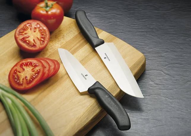 Правила заточки керамических ножей
