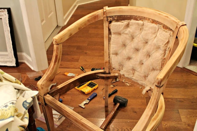 Компьютерное кресло своими руками из простых материалов по простой инструкции