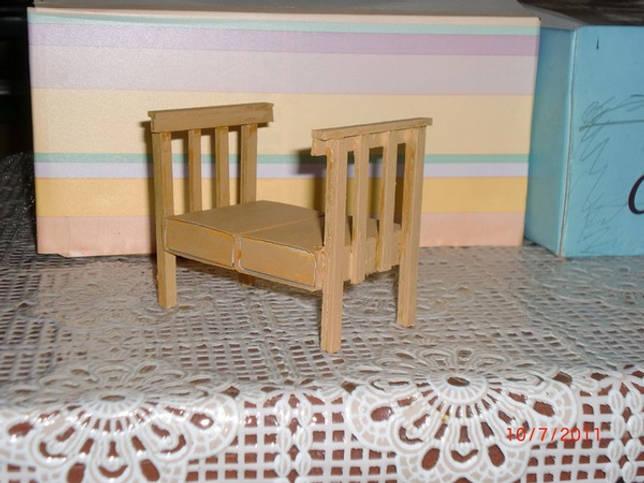 Кресло для куклы своими руками: материалы, пошаговая инструкция