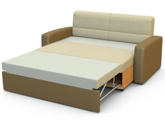 диван из прессованного материала