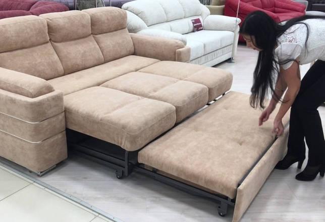 """Механизм """"Венеция"""" в диванах: это как, положительные черты конструкции"""