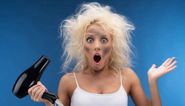 Можно ли сушить строительным феном волосы?