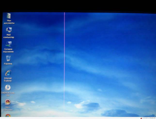 На мониторе появились горизонтальные полосы - что делать и как избавиться?