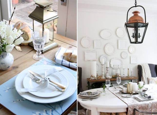 Варианты декора и сервировки стола