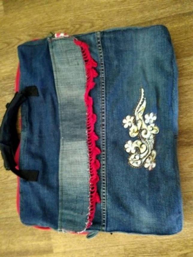 Обиваем диван старыми джинсами: пошаговая инструкция