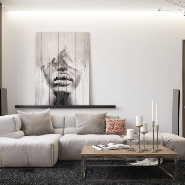 Идеи современного интерьера гостиной