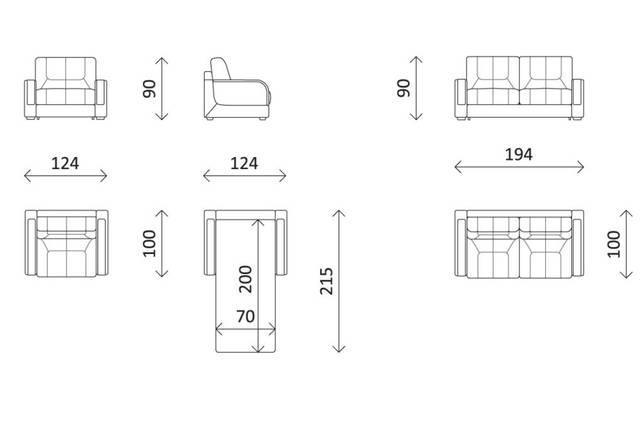 Пошаговая инструкция как собрать кресло-кровать