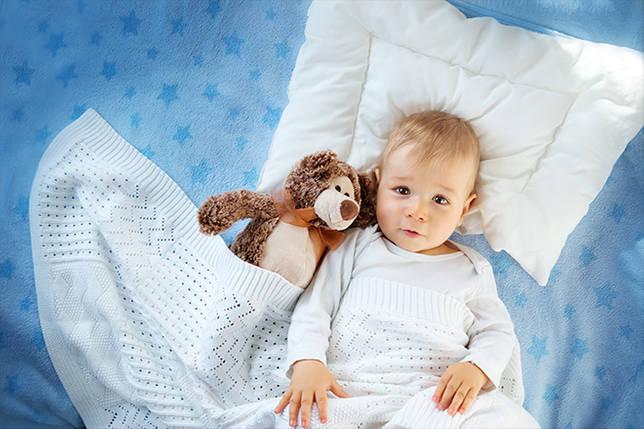 Гиппоаллергенная подушка для ребенка