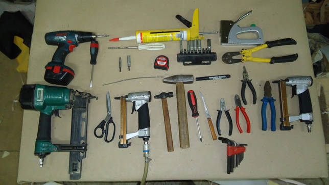 инструменты сборщика мебели