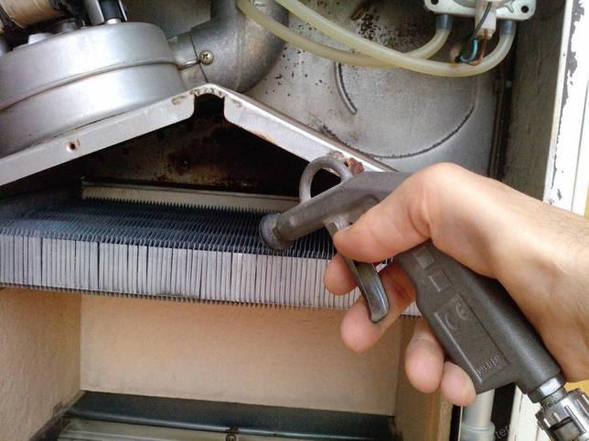 Прочистка пластин теплообменника