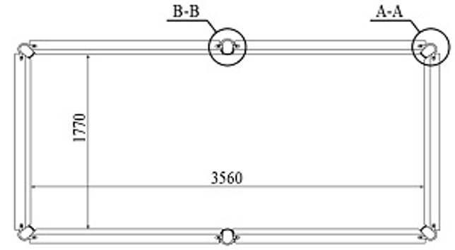 Сколько весит бильярдный стол: для русского бильярда, американки, снукера