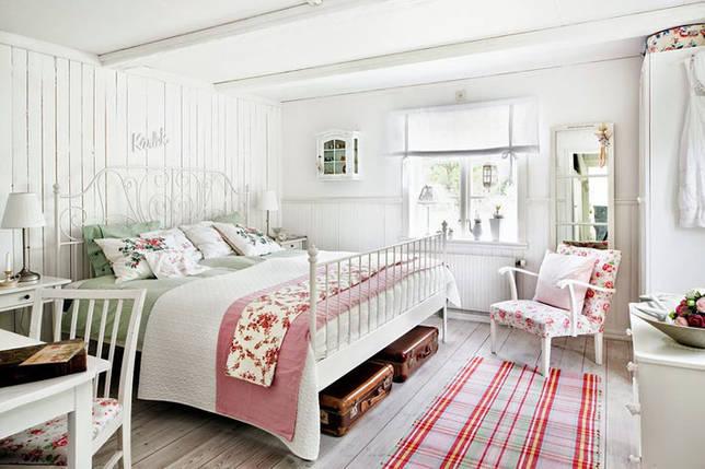 Фото № 3: Винтаж в интерьере спальни: основные черты и приемы