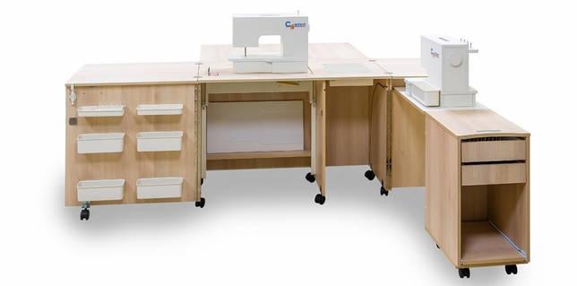 вид стола для машинки