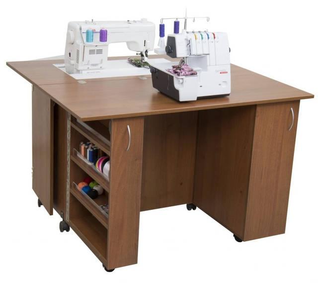 стол для машинки и оверлока