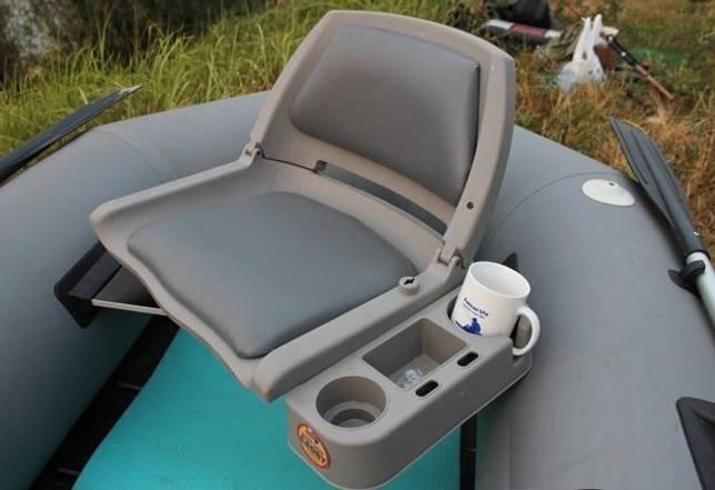 Поворотное кресло в надувную лодку ПВХ