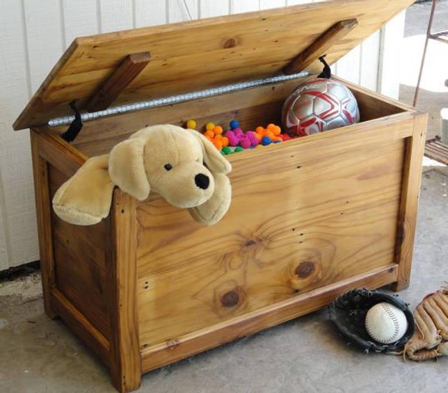 Сундук для игрушек в детскую