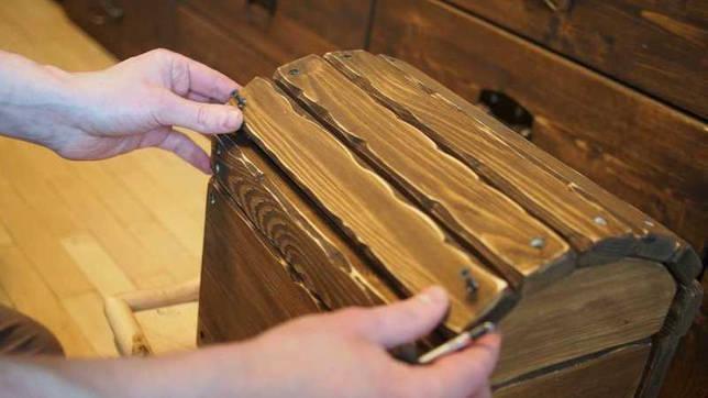 Сундук для игрушек своими руками: пошаговая инструкция