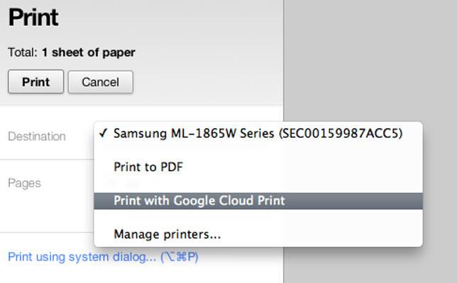 Удаленная печать на принтере через интернет: как распечатать