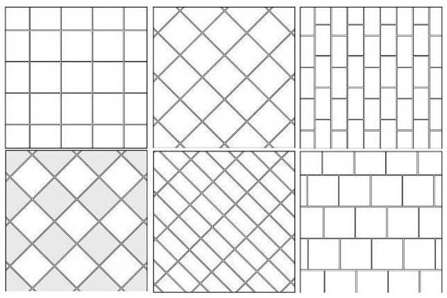 Укладка плитки на пол елочкой: правила укладки, пошаговая инструкция