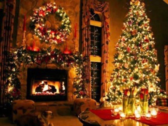 Классическое новогоднее украшение