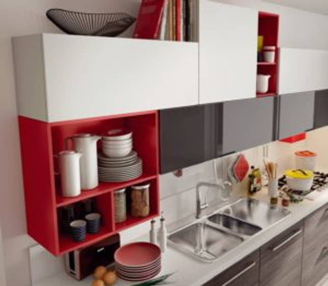 крепежи шкафов на кухне