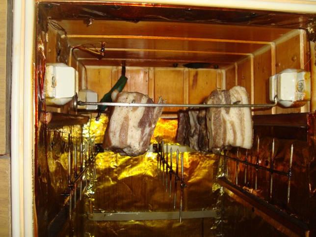 Устройство коптильни холодного копчения: принцип работы коптильни холодного копчения